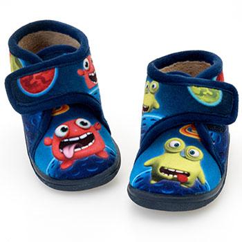 Chispas zapatillas de andar por casa